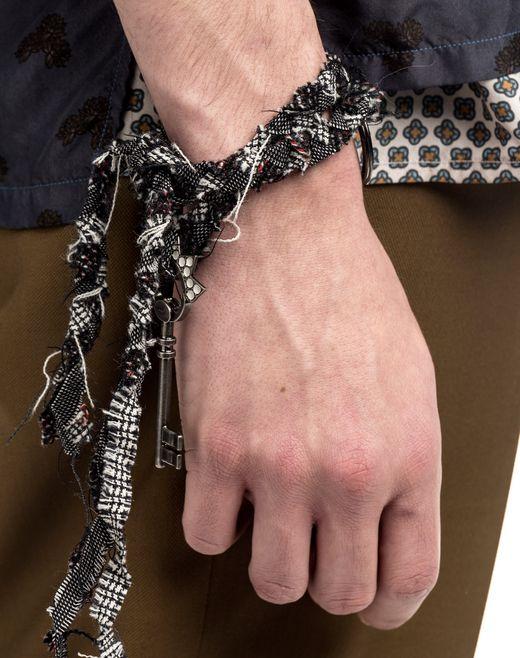 lanvin key holder with long cordon  men
