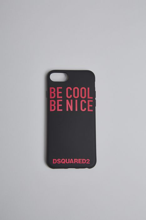 be cool be nice iphone 8 cover hi-tech Man Dsquared2