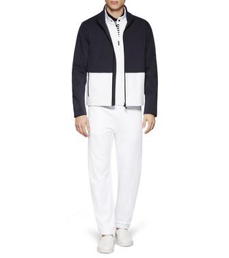 ZZEGNA: Pantalones De Felpa Blanco - 53000542XV