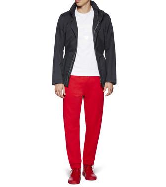 ZZEGNA: Pantalones De Felpa Rojo - 53000543VF