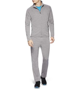 ZZEGNA: Pantalones De Felpa Gris - 53000552IF