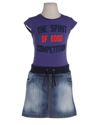 D&G JUNIOR - Skirt overall