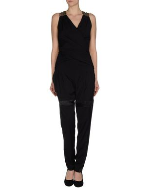 PINKO BLACK - Trouser dungaree