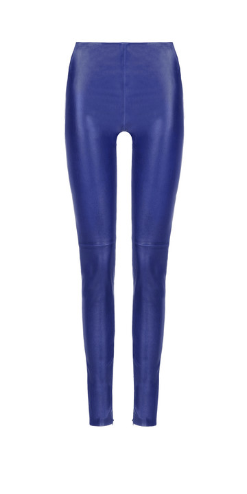 Balenciaga Slim Stretch Leather Pants