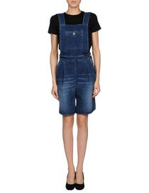 (+) PEOPLE - Short pant overall