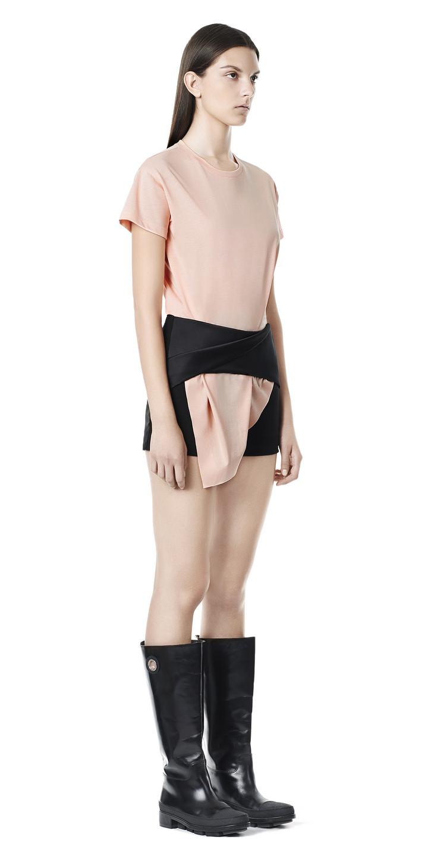 Balenciaga Twist Shorts