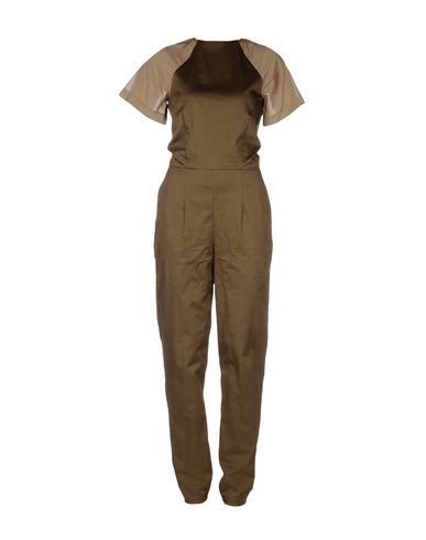 ANNIE & JADE DUNGAREES Trouser dungarees Women on YOOX.COM