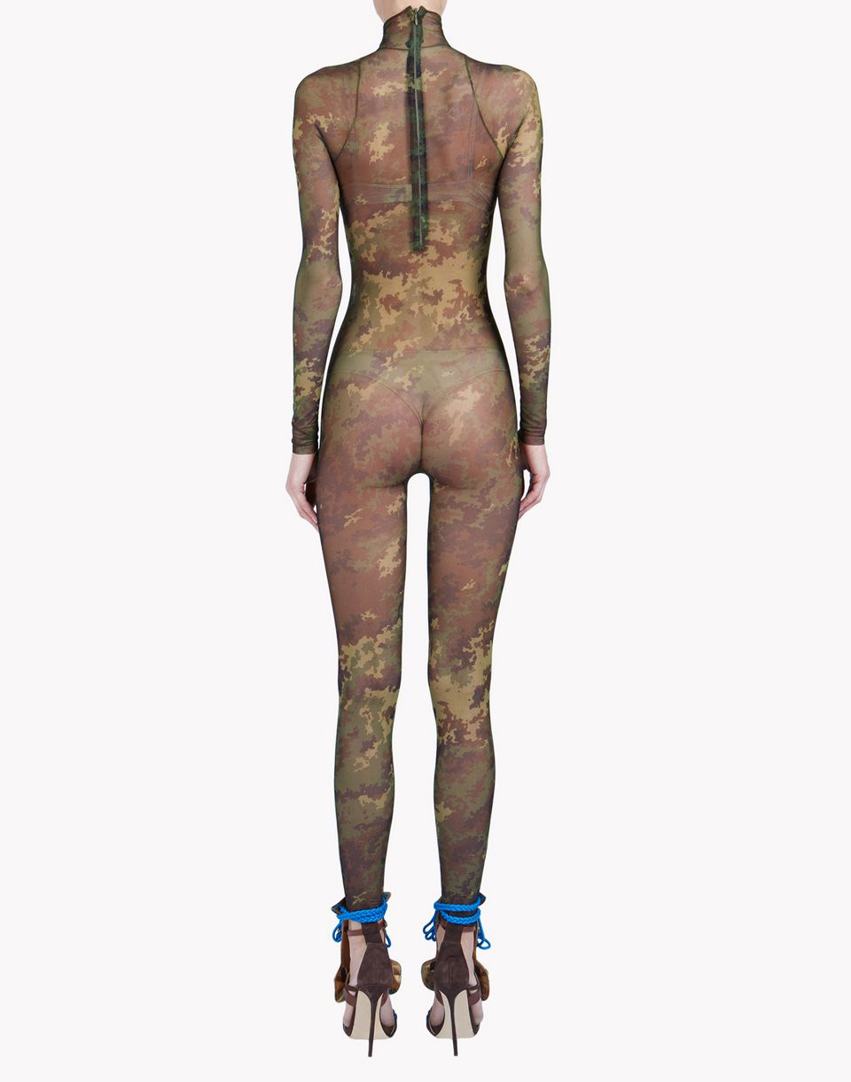 camouflage tattoo jumpsuit underwear Damen Dsquared2
