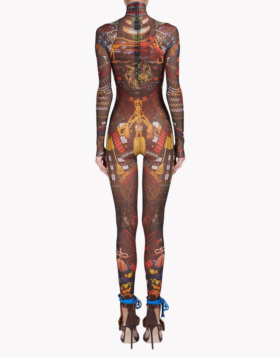 samurai tattoo jumpsuit underwear Woman Dsquared2