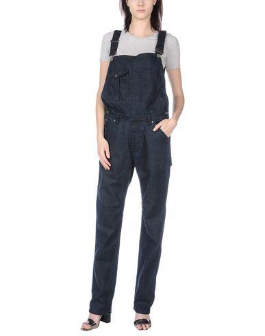 DESIGUAL レディース パンツジャンプスーツ ブルー 30 コットン 100%