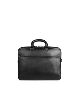 ERMENEGILDO ZEGNA: Office and laptop bag Maroon - Steel grey - 55004455NK
