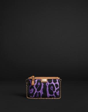 Micro Bag in Canvas di Cotone - Borse piccole in tessuto - Dolce&Gabbana - Estate 2016