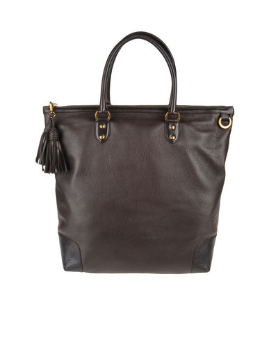 TRUSSARDI - Large leather bag