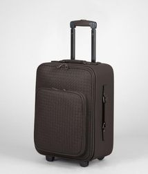 Trolley or carry-on luggageTravelLeatherBrown Bottega Veneta