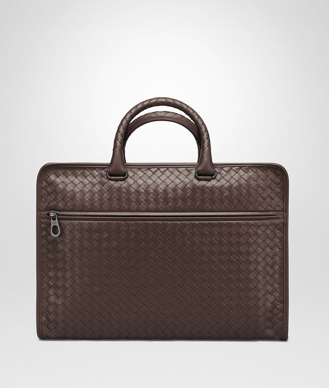 BOTTEGA VENETA BRIEFCASE IN MORO INTRECCIATO CALF Business bag U fp