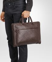 Business Bag Moro in Vitello Intrecciato