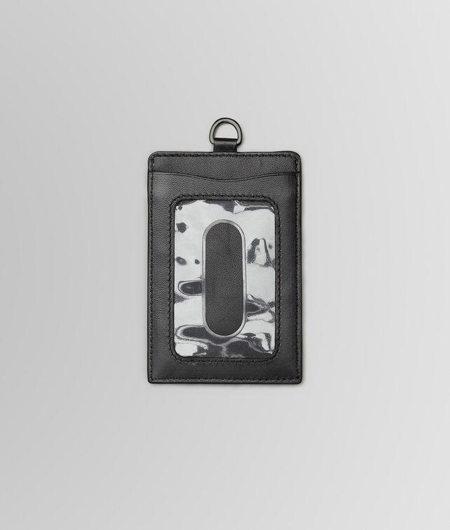 Nero Intrecciato Nappa Card Case