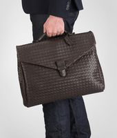 Ebano Intrecciato VN Briefcase