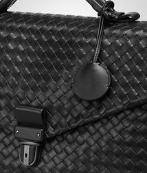 BOTTEGA VENETA - Briefcases, Nero Intrecciato VN Briefcase