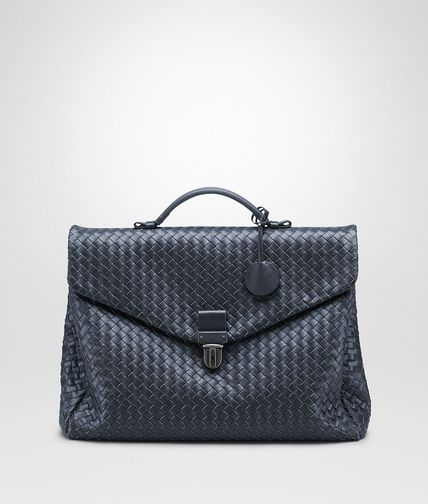 Light Tourmaline Intrecciato VN Briefcase