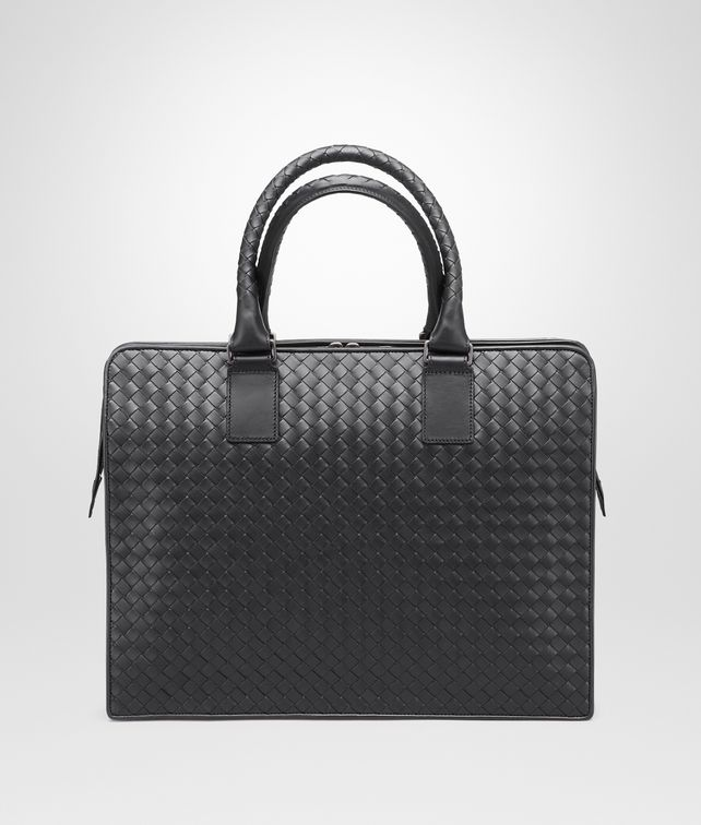 BOTTEGA VENETA BRIEFCASE IN NERO INTRECCIATO VN Business bag U fp