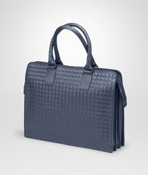 BOTTEGA VENETA - Briefcases, Light Tourmaline Intrecciato VN Briefcase