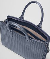 BRIEFCASE IN LIGHT TOURMALINE INTRECCIATO VN