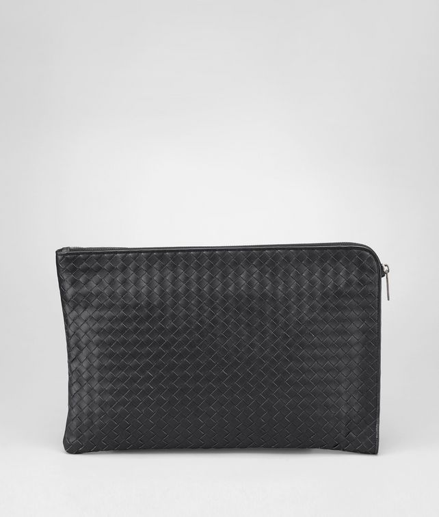 BOTTEGA VENETA Nero Intrecciato VN Document Case Business bag U fp