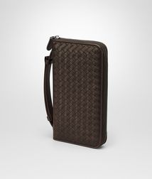 BOTTEGA VENETA - Travel Accessories, Ebano Intrecciato Vn Document Case