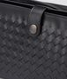 BOTTEGA VENETA MULTI-FUNCTIONAL CASE IN NERO CALF, INTRECCIATO DETAILS Small bag U lp
