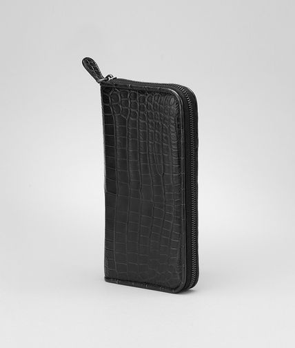BOTTEGA VENETA - Soft Crocodile Document Case
