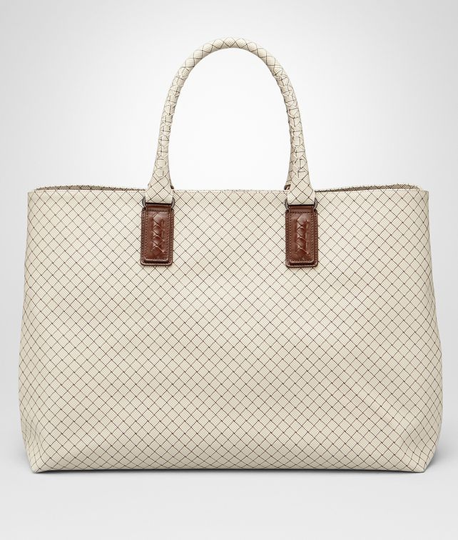 BOTTEGA VENETA Gainsboro Intrecciojet Large Tote Tote Bag E fp