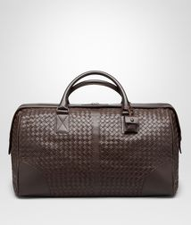 BOTTEGA VENETA - Holiday and weekend bags, Ebano Intrecciato VN Medium Duffel