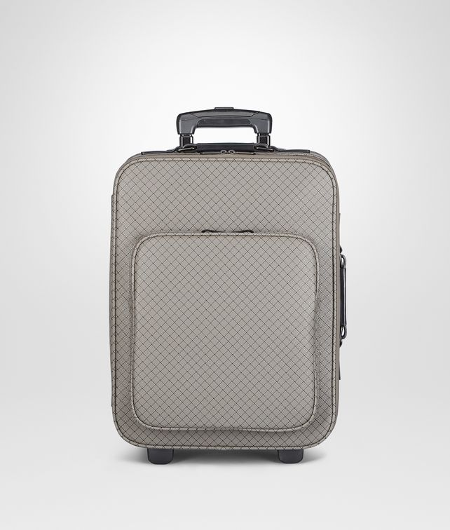 BOTTEGA VENETA Shadow Intrecciojet Trolley Trolley and Carry-on bag E fp
