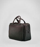 Tasche aus VN-Leder Intrecciato Ebano