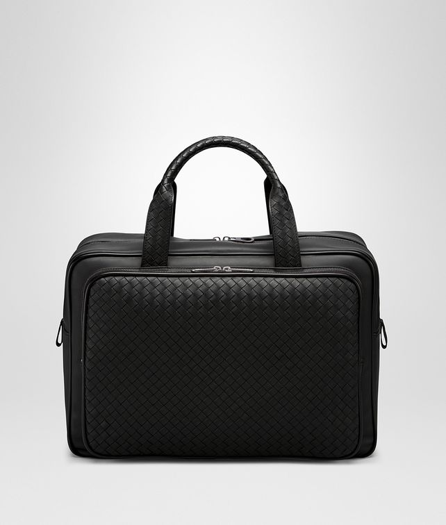 Carry On Bag aus VN-Leder Intrecciato Nero