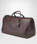 BOTTEGA VENETA Ebano Intrecciato VN Large Duffel Trolley and Carry-on bag E rp