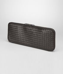 BOTTEGA VENETA - Travel Accessories, Ebano Intrecciato VN Tie Case
