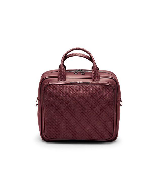 Tasche aus VN-Leder Intrecciato Vermillon