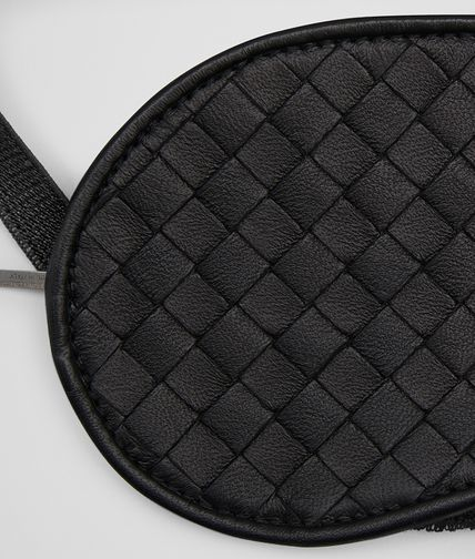 BOTTEGA VENETA - Nero Intrecciato Nappa Eye Mask