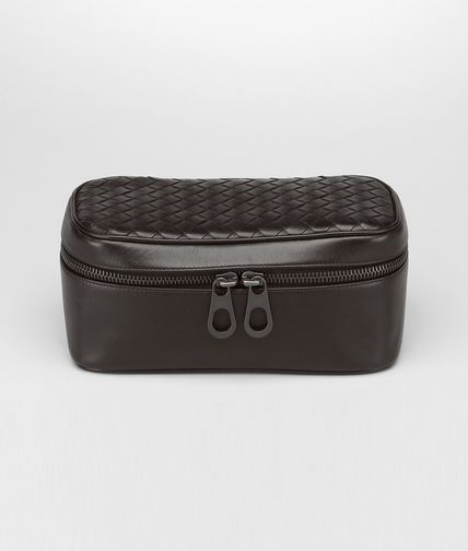 BOTTEGA VENETA - Ebano Intrecciato VN Watch Case