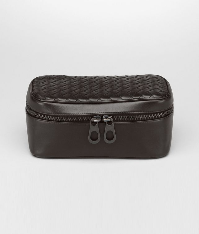 BOTTEGA VENETA Ebano Intrecciato VN Watch Case Other Leather Accessory E fp