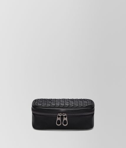 BOTTEGA VENETA - Nero Intrecciato VN Watch Case