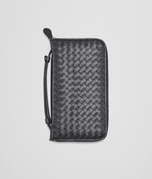 BOTTEGA VENETA - Travel Accessories, Ardoise Intrecciato VN Document Case
