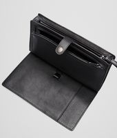 Nero Light Calf Soft Crocodile Document Case