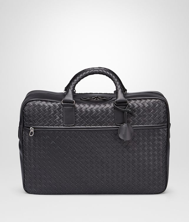 BOTTEGA VENETA BUSINESS BAG NERA IN VN INTRECCIATO Borsa Business U fp