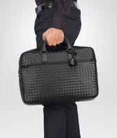Nero Intrecciato Vn Briefcase