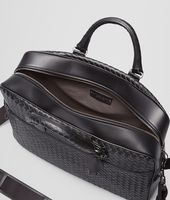 BUSINESS BAG NERA IN VN INTRECCIATO