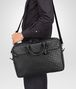 BOTTEGA VENETA BUSINESS BAG NERA IN VN INTRECCIATO Borsa Business U lp