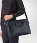 BOTTEGA VENETA BRIEFCASE IN PRUSSE INTRECCIATO CALF Business bag U lp